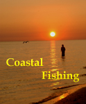 Fishing along the coast of North Carolina