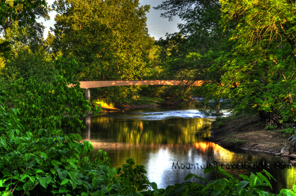 River Walk Bridge, Murphy North Carolina